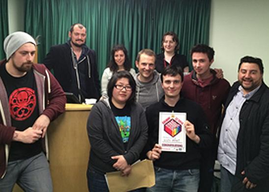 9th Impact win 2014 Game Craft award